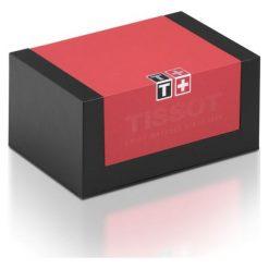 RABAT ZEGAREK TISSOT PRS 516 Automatic T100.430.36.051.00. Czarne zegarki męskie TISSOT, ze stali. W wyprzedaży za 3520,00 zł.