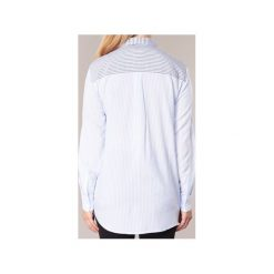 Koszule Pepe jeans  MILA. Białe koszule jeansowe damskie marki Pepe Jeans, l. Za 263,20 zł.