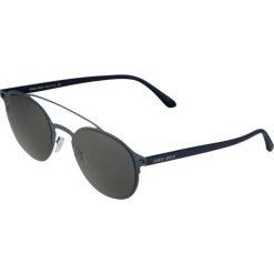 Giorgio Armani Okulary przeciwsłoneczne blue. Niebieskie okulary przeciwsłoneczne damskie wayfarery Giorgio Armani. W wyprzedaży za 671,30 zł.