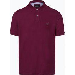 Fynch Hatton - Męska koszulka polo, czerwony. Czerwone koszulki polo Fynch-Hatton, m, z haftami, z bawełny. Za 129,95 zł.