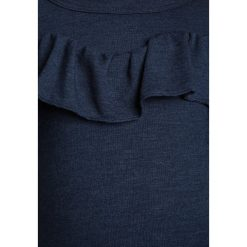 The New GISELLE  Bluzka z długim rękawem black iris. Białe bluzki dziewczęce z długim rękawem marki UP ALL NIGHT, z bawełny. Za 159,00 zł.