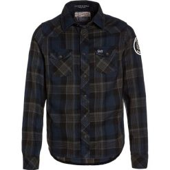 Bluzki dziewczęce bawełniane: Petrol Industries LONGSLEEVE Koszula dark capri