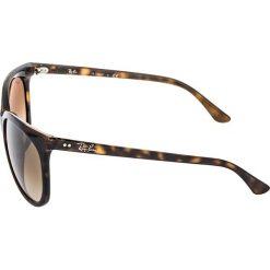 RayBan CATS Okulary przeciwsłoneczne dark brown. Brązowe okulary przeciwsłoneczne damskie aviatory Ray-Ban. Za 619,00 zł.