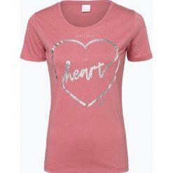 BOSS Casual - T-shirt damski – Temoncoeur, różowy. Czerwone t-shirty damskie BOSS Casual, s, z nadrukiem. Za 219,95 zł.