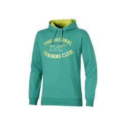 Bejsbolówki męskie: Asics Bluza męska Graphic Hoodie zielona r. XL (131532-4005)