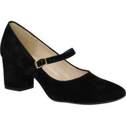Czółenka na słupku Casu 1827. Brązowe buty ślubne damskie marki bonprix, na obcasie. Za 109,99 zł.