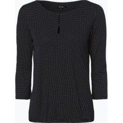 Opus - Koszulka damska – Saskia dot, niebieski. Niebieskie t-shirty damskie Opus. Za 179,95 zł.