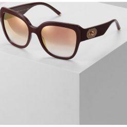 Dolce&Gabbana Okulary przeciwsłoneczne bordeaux. Czerwone okulary przeciwsłoneczne damskie lenonki Dolce&Gabbana. Za 899,00 zł.