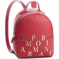 Plecak EMPORIO ARMANI - Y3L020 YH60A 80133  Ruby Red. Czerwone plecaki damskie Emporio Armani, ze skóry. Za 1139,00 zł.