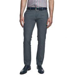 Rurki męskie: spodnie hollow 214 granatowy slim fit