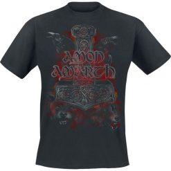 Amon Amarth Crows And Wolves T-Shirt czarny. Czarne t-shirty męskie z nadrukiem Amon Amarth, m, z dekoltem na plecach. Za 74,90 zł.