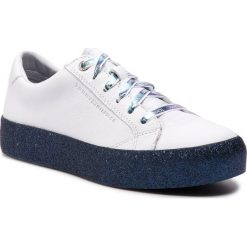c81ab8d0615eb Sneakersy TOMMY HILFIGER - Glitter Dress Sneaker FW0FW03962 Rwb 020. Białe  sneakersy damskie TOMMY HILFIGER