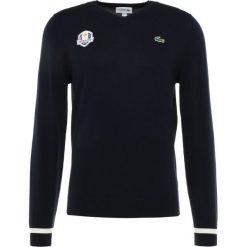Lacoste Sport RYDER CUP Sweter marine/blanc. Niebieskie swetry klasyczne męskie marki Lacoste Sport, m, z materiału. Za 599,00 zł.
