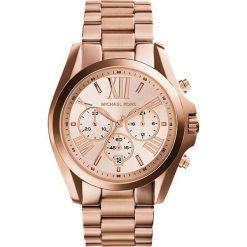 Michael Kors BRADSHAW Zegarek chronograficzny rosegoldcoloured. Czerwone zegarki damskie Michael Kors. W wyprzedaży za 935,20 zł.