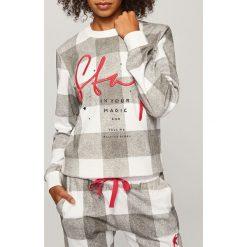 Piżama ze spodniami - Szary. Czarne piżamy damskie marki Reserved, l. Za 129,99 zł.