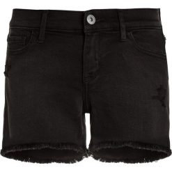 Bermudy damskie: Abercrombie & Fitch CORE MIDI Szorty jeansowe washed black