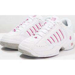 KSWISS DEFIER RS Obuwie multicourt white/very berry. Białe buty sportowe damskie marki K-SWISS. Za 549,00 zł.