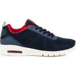 Buty do biegania męskie: Tekstylne buty do biegania AX BOXING niebieskie