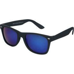 Classic Okulary przeciwsłoneczne czarny/niebieski. Czarne okulary przeciwsłoneczne damskie lenonki marki Classic. Za 24,90 zł.