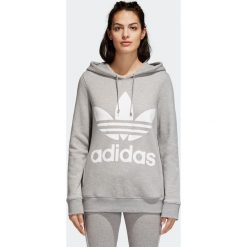 Bluza adidas W Trefoil (CY6665). Czarne bluzy sportowe damskie marki Alpha Industries, z materiału. Za 179,99 zł.