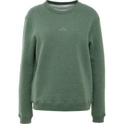 Holzweiler ANNA Bluza green melange. Zielone bluzy rozpinane damskie Holzweiler, l, z bawełny. Za 649,00 zł.
