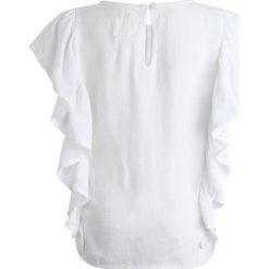 Carrement Beau Bluzka weiß. Białe bluzki dziewczęce Carrement Beau, z materiału. Za 199,00 zł.