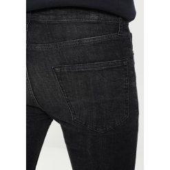 Topman COHEN SPRAY ON WITH RIPS Jeans Skinny Fit black - 2