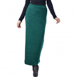 Spódnica w kolorze zielonym. Zielone długie spódnice Lila Kass, xxs, z podwyższonym stanem. W wyprzedaży za 189,95 zł.