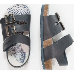 Kickers MAGINATION Sandały marine. Niebieskie sandały męskie skórzane marki Kickers, na sznurówki. Za 239,00 zł.