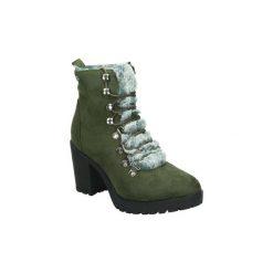 Śniegowce Xti  48454. Zielone buty zimowe damskie marki Xti. Za 263,62 zł.