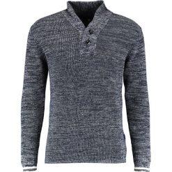 GStar DADIN SHAWL COLLAR CLEAN KNIT L/S Sweter tench blue/ivory. Niebieskie kardigany męskie marki G-Star, l, z bawełny. W wyprzedaży za 351,75 zł.