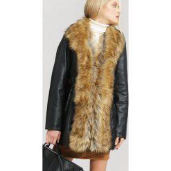 Czarno-Cimnobeżowa Kurtka Rise. Brązowe kurtki damskie zimowe marki QUECHUA, m, z materiału. Za 229,99 zł.