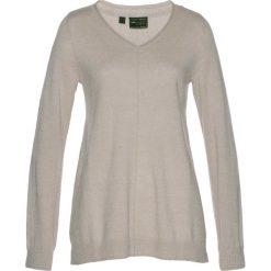 Swetry klasyczne damskie: Sweter Premium bonprix kamienisty melanż
