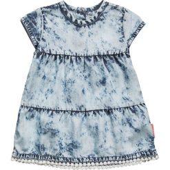Sukienki dziewczęce z falbanami: Noppies DRESS LESGES BABY Sukienka jeansowa mid bleu