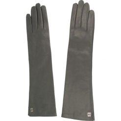 Rękawiczki damskie: Rękawiczki Damskie COCCINELLE – XY2 Guanti C7 XY2 41 15 01 Asphalt 053 S
