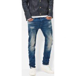G-Star Raw - Jeansy 3301 Slim. Niebieskie jeansy męskie regular G-Star RAW. W wyprzedaży za 369,90 zł.