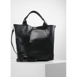 New Look CROC Torba na zakupy black. Czarne shopper bag damskie marki New Look, z materiału, na obcasie. Za 169,00 zł.