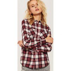 Koszula w kratę - Brązowy. Brązowe koszule damskie marki House, l. Za 39,99 zł.