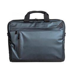 "Torba na laptopa TRACER Navigatto 15,6"" Czarna. Czarne torby na laptopa marki Tracer, w paski, z poliesteru. Za 99,99 zł."