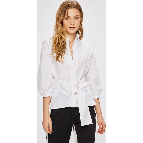 578c2875483899 Miss Poem - Koszula - Białe koszule damskie Miss Poem, s, z elastanu ...