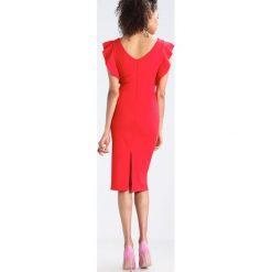 Sukienki hiszpanki: WAL G. Sukienka etui red
