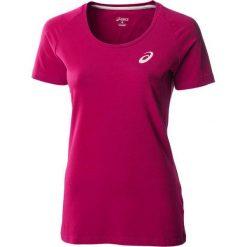 Asics Koszulka Short Sleeve Top różowy r.M (130809-0286). Czerwone topy sportowe damskie Asics, m. Za 35,90 zł.