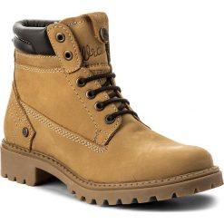 Trapery WRANGLER - Creek WF008048Z  Tan Yellow 24. Żółte buty zimowe damskie marki Wrangler, z materiału. W wyprzedaży za 269,00 zł.