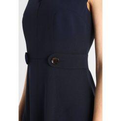 Sukienki hiszpanki: Karen Millen BUTTON DETAIL GROUP Sukienka koszulowa navy