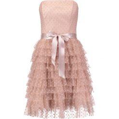 Sukienki hiszpanki: Young Couture by Barbara Schwarzer Sukienka koktajlowa nude