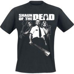 T-shirty męskie z nadrukiem: Shaun Of The Dead Logo T-Shirt czarny