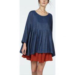 """T-shirty damskie: Koszulka """"Lizepark"""" w kolorze niebieskim"""