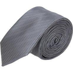 Krawat platinum granatowy classic 226. Niebieskie krawaty męskie Recman. Za 49,00 zł.