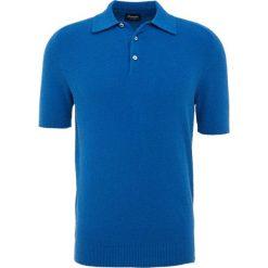 Koszulki polo: Drumohr POLO SPUGNA Koszulka polo royal blue