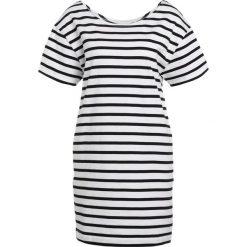 Sukienki dzianinowe: American Vintage RICOBEACH Sukienka dzianinowa white/black
